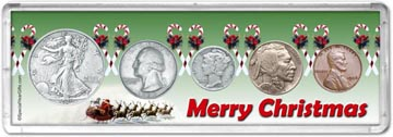 1936 Merry Christmas Coin Gift Set THUMBNAIL