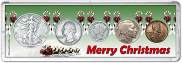 1937 Merry Christmas Coin Gift Set THUMBNAIL