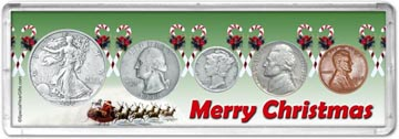 1938 Merry Christmas Coin Gift Set THUMBNAIL