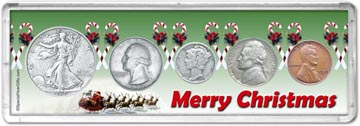 1939 Merry Christmas Coin Gift Set THUMBNAIL