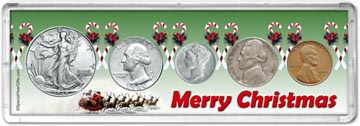 1940 Merry Christmas Coin Gift Set THUMBNAIL