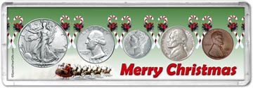 1941 Merry Christmas Coin Gift Set THUMBNAIL