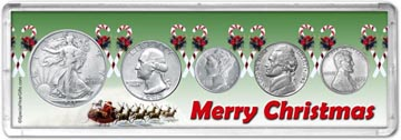 1943 Merry Christmas Coin Gift Set THUMBNAIL