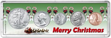 1944 Merry Christmas Coin Gift Set THUMBNAIL
