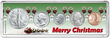 1946 Merry Christmas Coin Gift Set THUMBNAIL