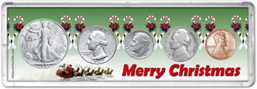 1947 Merry Christmas Coin Gift Set THUMBNAIL