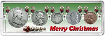 1950 Merry Christmas Coin Gift Set THUMBNAIL