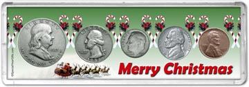 1953 Merry Christmas Coin Gift Set THUMBNAIL