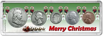 1954 Merry Christmas Coin Gift Set THUMBNAIL