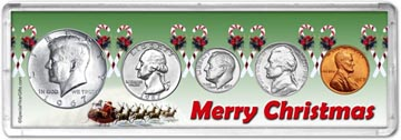 1967 Merry Christmas Coin Gift Set THUMBNAIL