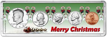 1974 Merry Christmas Coin Gift Set THUMBNAIL
