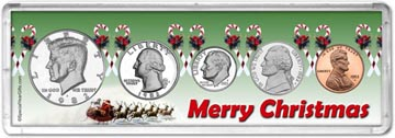 1982 Merry Christmas Coin Gift Set THUMBNAIL