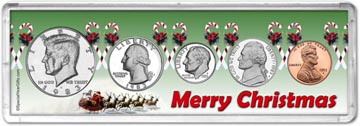 1983 Merry Christmas Coin Gift Set THUMBNAIL