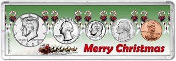 1989 Merry Christmas Coin Gift Set THUMBNAIL