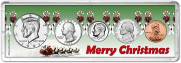 1991 Merry Christmas Coin Gift Set THUMBNAIL