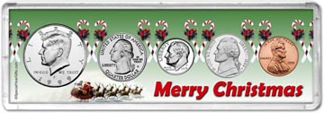 1999 Merry Christmas Coin Gift Set THUMBNAIL