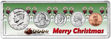 2000 Merry Christmas Coin Gift Set THUMBNAIL