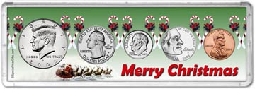2005 Merry Christmas Coin Gift Set THUMBNAIL