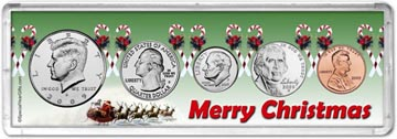 2009 Merry Christmas Coin Gift Set THUMBNAIL