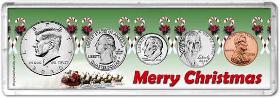Merry Christmas Coin Gift Set LARGE