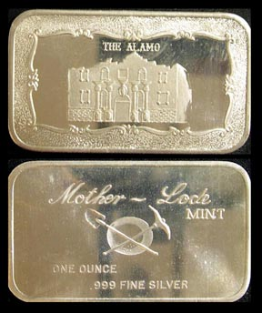 Alamo' Art Bar by Mother Lode Mint.