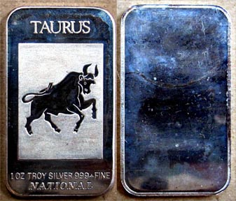 Taurus' Art Bar by National Mint.