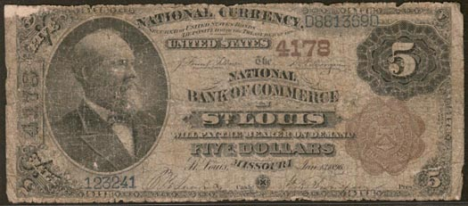National Bank of Commerce in Saint Louis, Missouri, Charter 4178 LARGE
