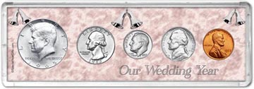 1965 Our Wedding Year Coin Gift Set THUMBNAIL