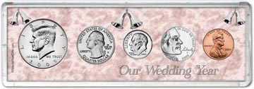 2005 Our Wedding Year Coin Gift Set THUMBNAIL
