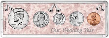 2012 Our Wedding Year Coin Gift Set THUMBNAIL