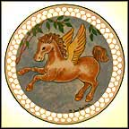 Winged Unicorn Collector Plate by Joan Berg Victor