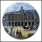 Cabildo Collector Plate by John Alan Maxwell
