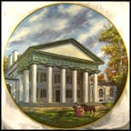 Custis-Lee Manson Collector Plate by John Alan Maxwell