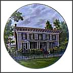 The First White House Of The Confederacy Collector Plate by John Alan Maxwell