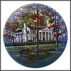 Fort Hill Collector Plate by John Alan Maxwell MAIN