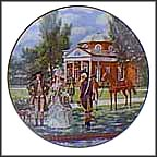 Monticello Collector Plate by John Alan Maxwell
