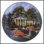 Oak Hill Collector Plate by John Alan Maxwell