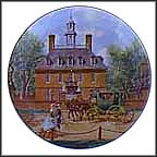 Governor's Palace - Williamsburg Collector Plate by John Alan Maxwell