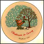 Christmas Is Caring Collector Plate by Tom Wilson