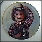 Jake Collector Plate by Sue Etem