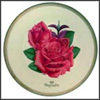Bing Crosby Rose Collector Plate by Luther Bookout