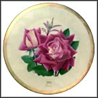 Love Rose Collector Plate by Luther Bookout