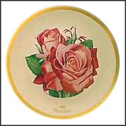 Mon Cheri Rose Collector Plate by Luther Bookout