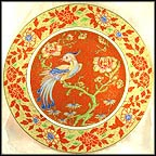 The Firebird Collector Plate by Dr. Irving Carl Burgues