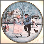 The Anniversary Collector Plate by P. Buckley Moss MAIN