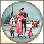 The Christening Collector Plate by P. Buckley Moss MAIN