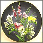 Freesia Collector Plate by Count Lennart Bernadotte And Garie Von Schunk