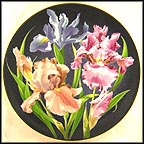 Iris Collector Plate by Count Lennart Bernadotte And Garie Von Schunk