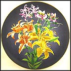 Lily Collector Plate by Count Lennart Bernadotte And Garie Von Schunk
