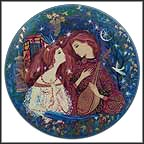 Romeo And Juliet Collector Plate by Frank Russell and Gertrude Barrer